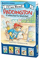 Follow Paddington and his nose for adventure as he finds himself out at sea, performs an impressive magic trick, paints a masterpiece, and more!              Michael Bond's classic character, Paddington Bear, has warmed the he...