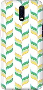 Stylizedd Oppo R17 Slim Snap Basic Case Cover Matte Finish - Retro Leaves