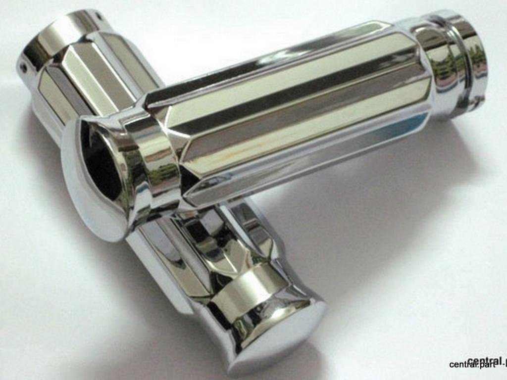 Fit For Replacement Motorcycle Spike Bar Ends Stiletto end Caps  ISO Style Hand