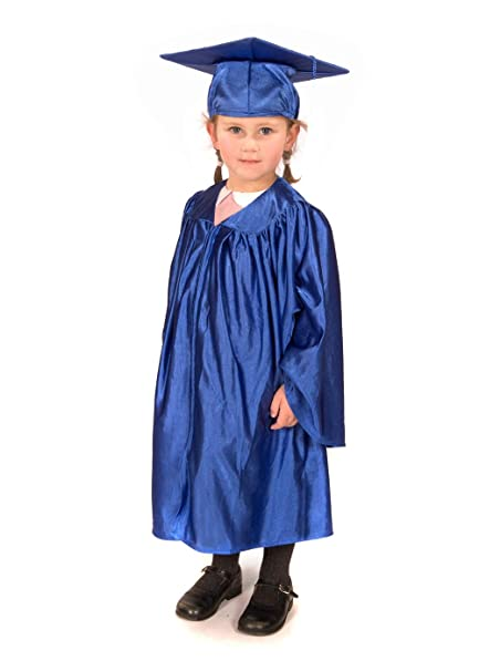 97ccf882466 Kaku Fancy Dresses Graduation Gown Degree Gown Costume for Convocation  -Blue