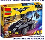 TOY-STATION - LEGOO STYLE BLOCKS ( LIMITED EDITION ) (BATMAN 295 PCS)