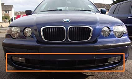 Genuine Bmw E46 Compact Front Bumper Center Black Grille Oem