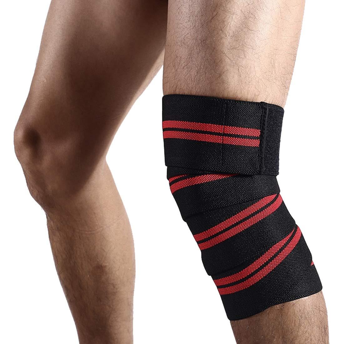 FELICIPP Sports enroulement Fort /élastique Bandage Auto-adh/ésif Genou Lifting Halt/érophilie Bride De Protection