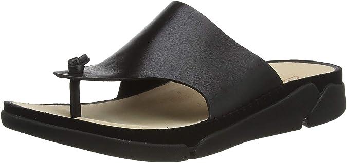 Clarks Women's Tri Toe Post Flip Flops