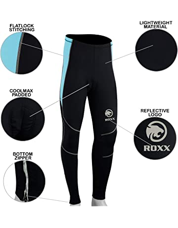 a1b73e25ae4 ROXX Ladies Cycling Long Tights Padded Winter Thermal Pants Women Cycle  Bicycle Trousers Quick Dry UV