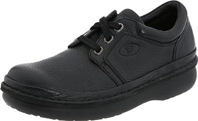 Propet Men's Villager Mid Shoe Black 12 X (3E) & Oxy Cleaner Bundle