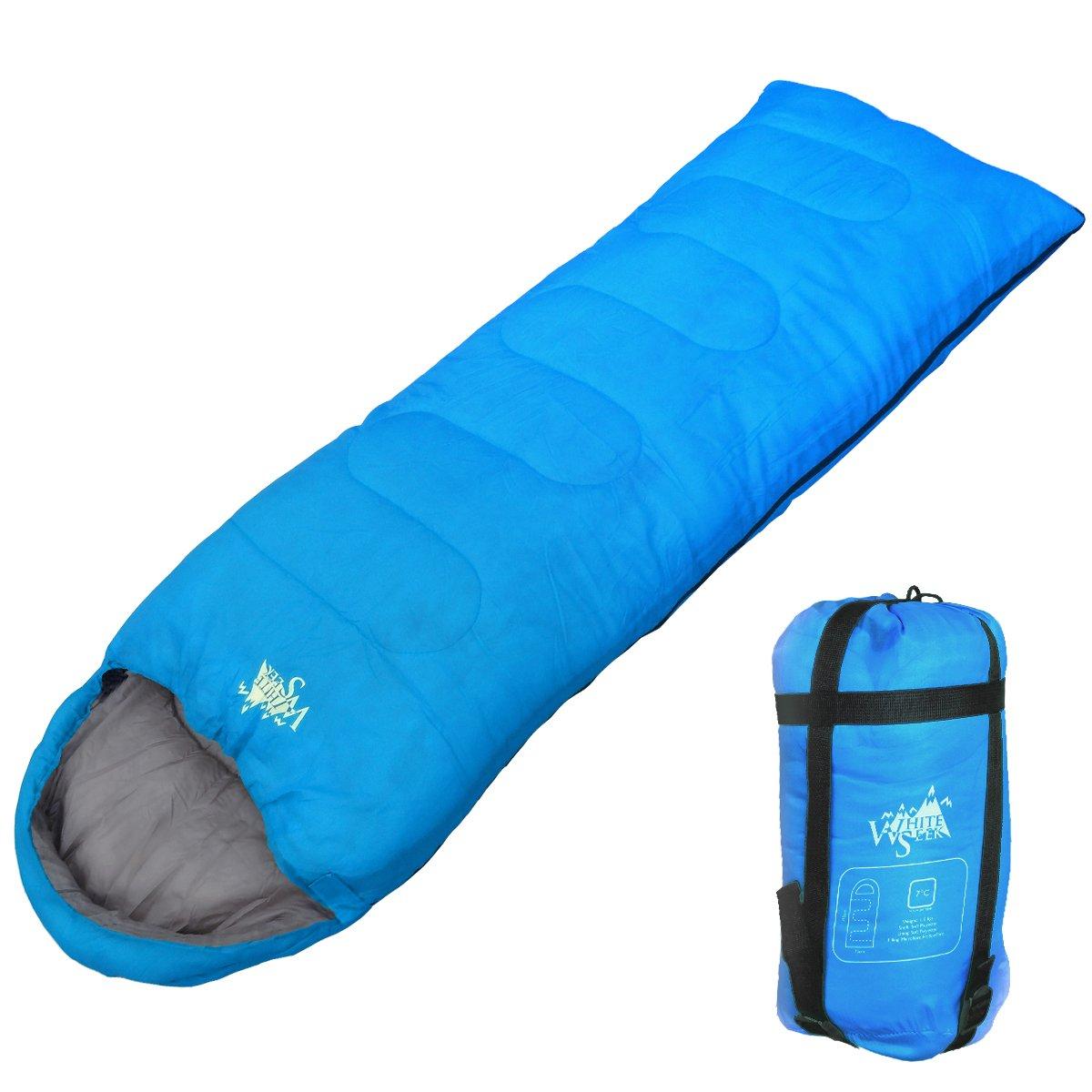 WhiteSeek 寝袋 シュラフ 封筒型