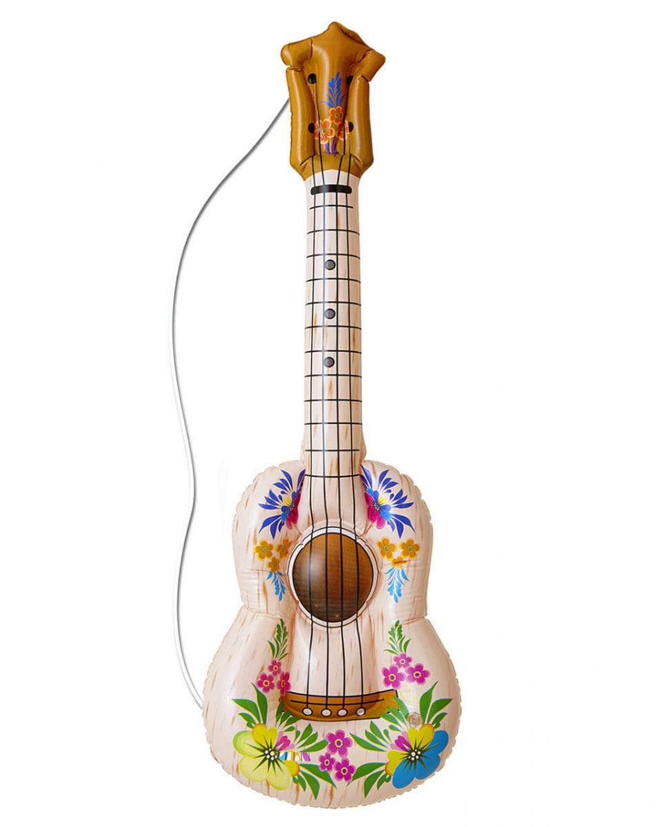 Horror-Shop guitarra inflable Hawaii: Amazon.es: Juguetes y ...