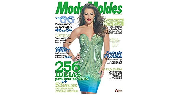 Moda Moldes 71 (Portuguese Edition) eBook: On Line Editora: Amazon.es: Tienda Kindle