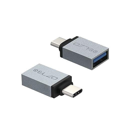 22 opinioni per Elzo Alluminio Adattatori USB C a USB 3.0, [ Confezione da 2 ] Connettore Tipo C