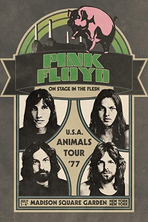 Amazon.com: Studio B Pink Floyd - Animals - Madison Square Garden 1977 Tour Laminated Poster 24x36 inches: Posters & Prints