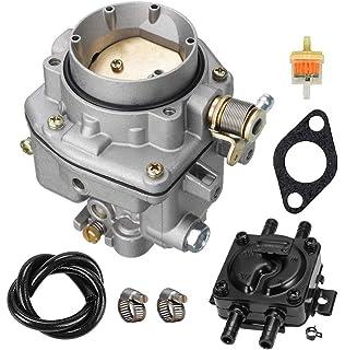 146-0496 carburetor with fuel pump oil filter kit for onan nos b48g b48m  p216g