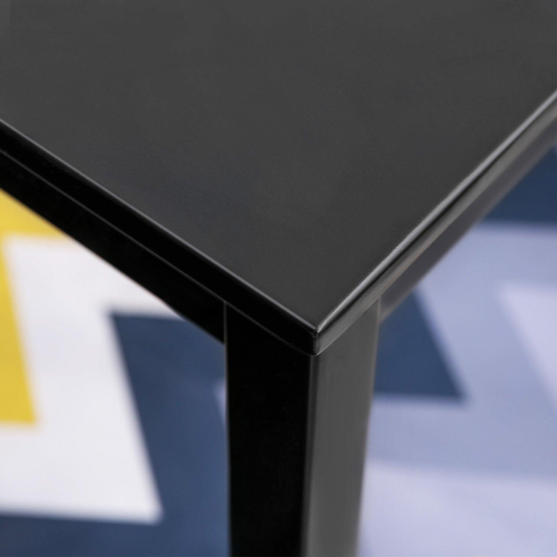Merax 47'' Rectangular Dinning Table in Dark Espresso 100% New Zealand Pine Wood Finish by Merax (Image #3)