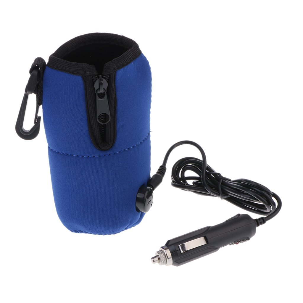 Flameer Portable Milk Drink Food Warmer Heater 12V and Clip USB Powered for Baby by Flameer (Image #7)