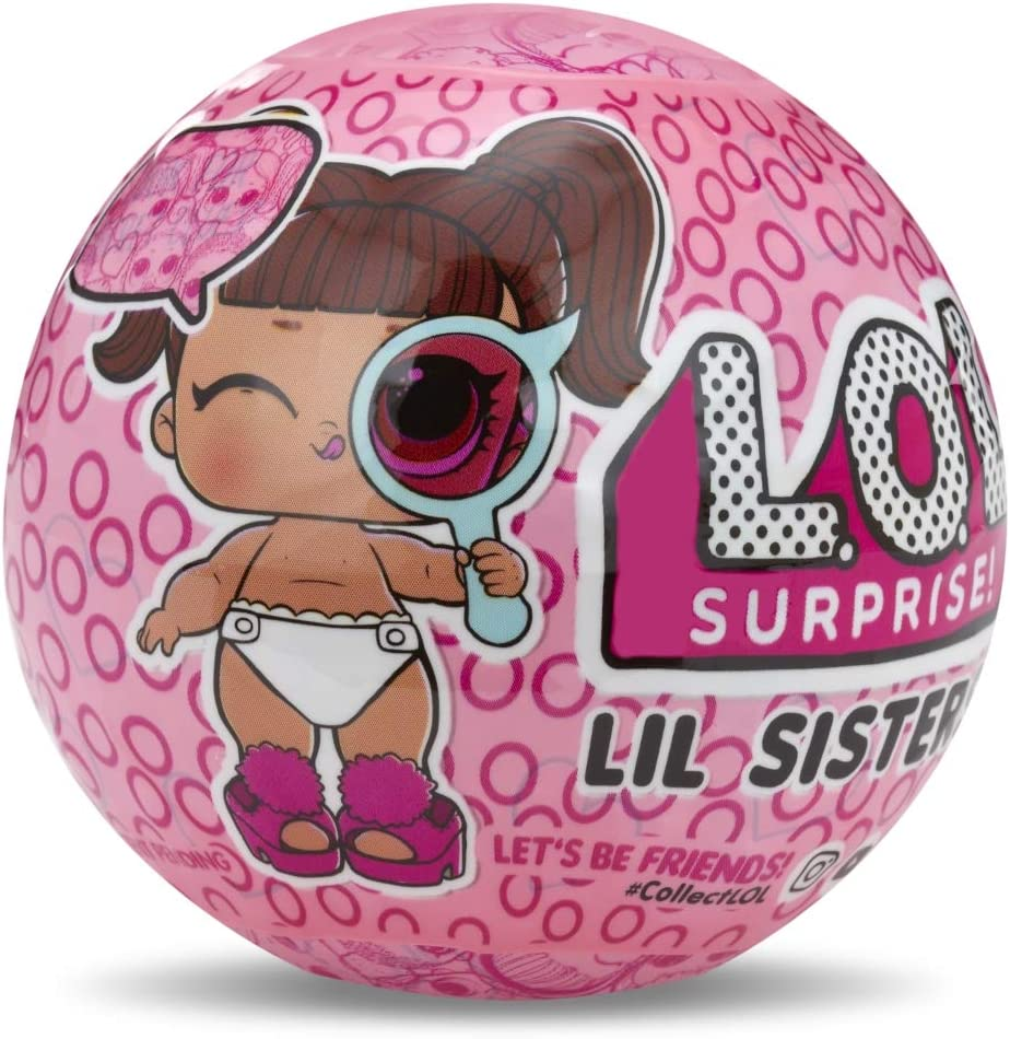 LOL Surprise - Lil Sisters Serie Espía Muñeca con Bola Llavero, 5 Sorpresas (Giochi Preziosi LLU31000) , color/modelo surtido: Amazon.es: Juguetes y juegos