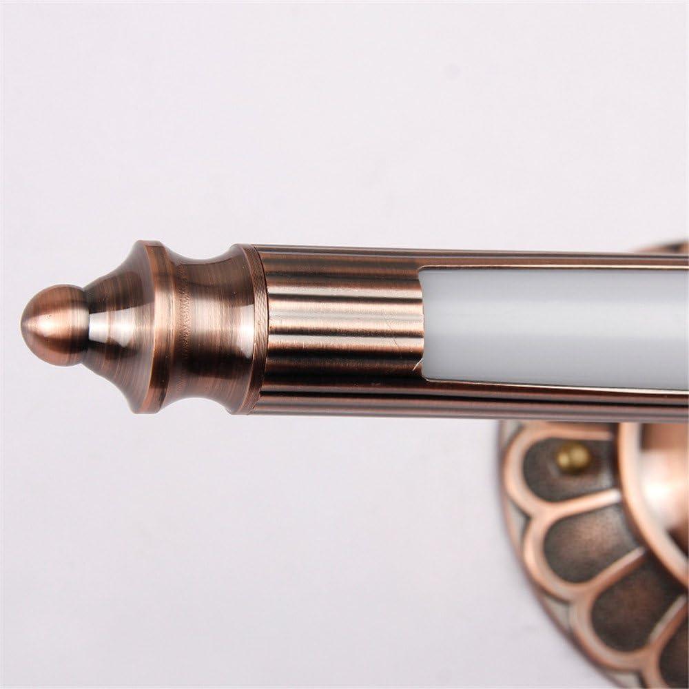 Spiegelleuchten IP20 Retro Eisen Wandlampe AC 110V-240V Amerikanische Spiegelleuchte LED Wasserdichte Badezimmerleuchten Rostfreie Spiegelschrank Licht Acryl Lampenschirme Energy efficiency A++