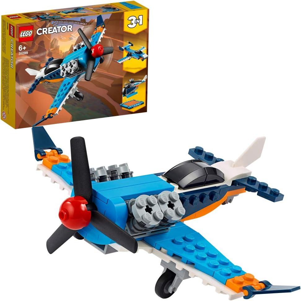 レゴ(LEGO) クリエイター プロペラ飛行機 31099