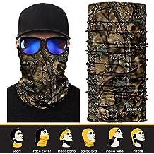 3d Face Mask, Headwear, Magic braga, pañuelo, Bandana, pasamontañas, cinta para la pesca, caza, senderismo, camping, la humedad protección UV