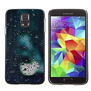 Cubierta protectora del caso de Shell Plástico    Samsung Galaxy S5 SM-G900    Light Sad Dark Reflection @XPTECH