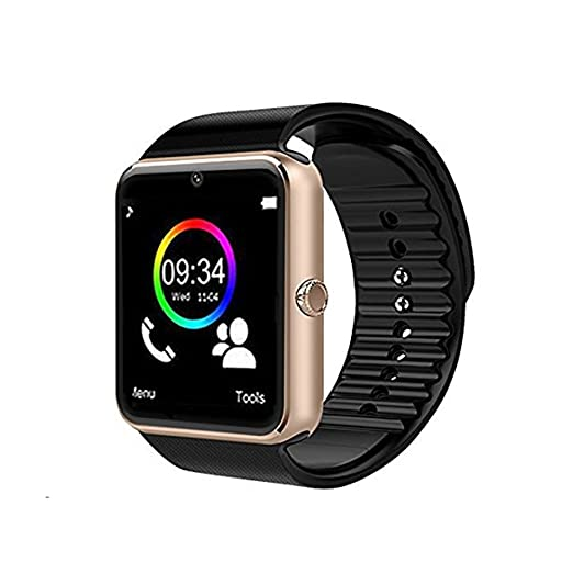 Wenhsin Smartwatch GT08 Bluetooth Smart Watch with Camera SIM Card TF/SD Card Slot Call Sync Notifier and Smart Health Watch for Android Smartphones ...