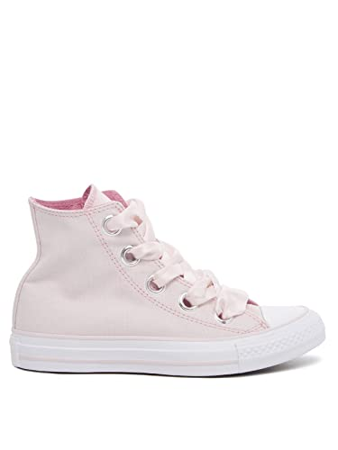 15c0445ddf7dfd Converse CTAS Big Eyelets Hi Womens Shoes Barely Rose Light Orchid White  559917c (