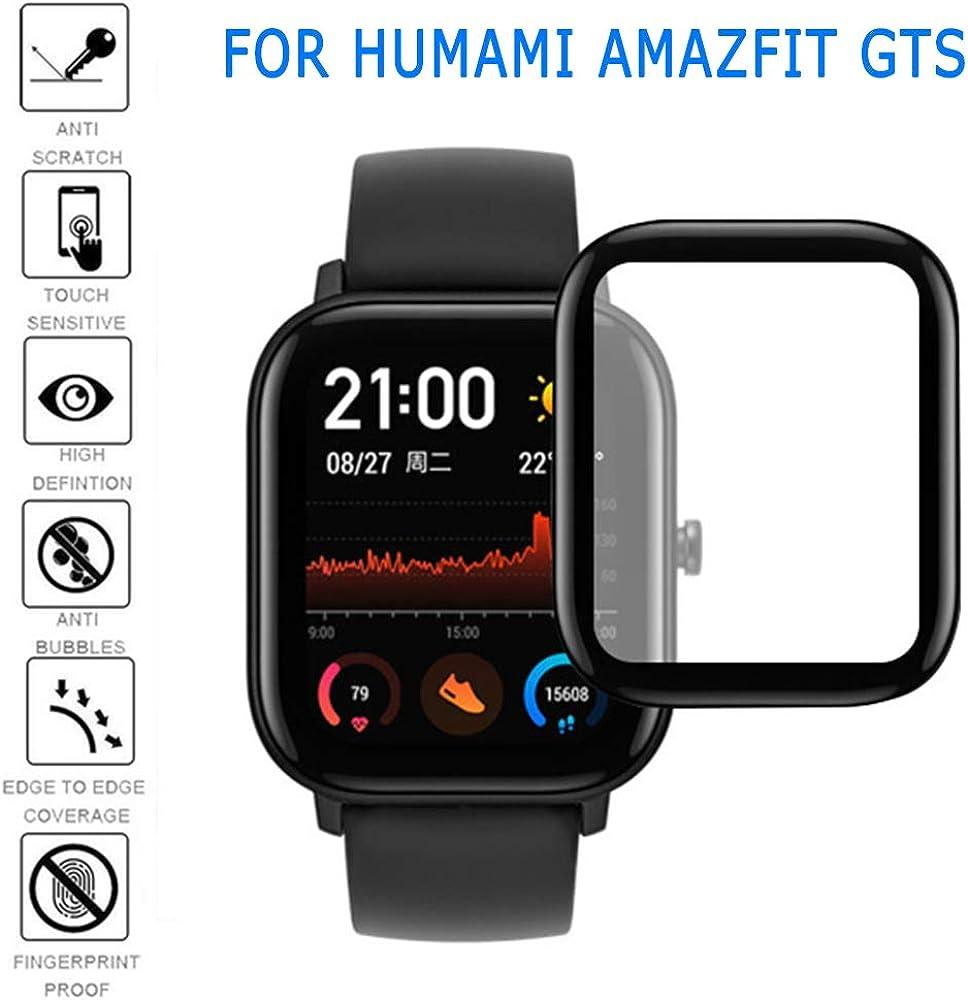 ZHONGYU Compitable para Amazfit GTS Reloj Protector de Pantalla ...