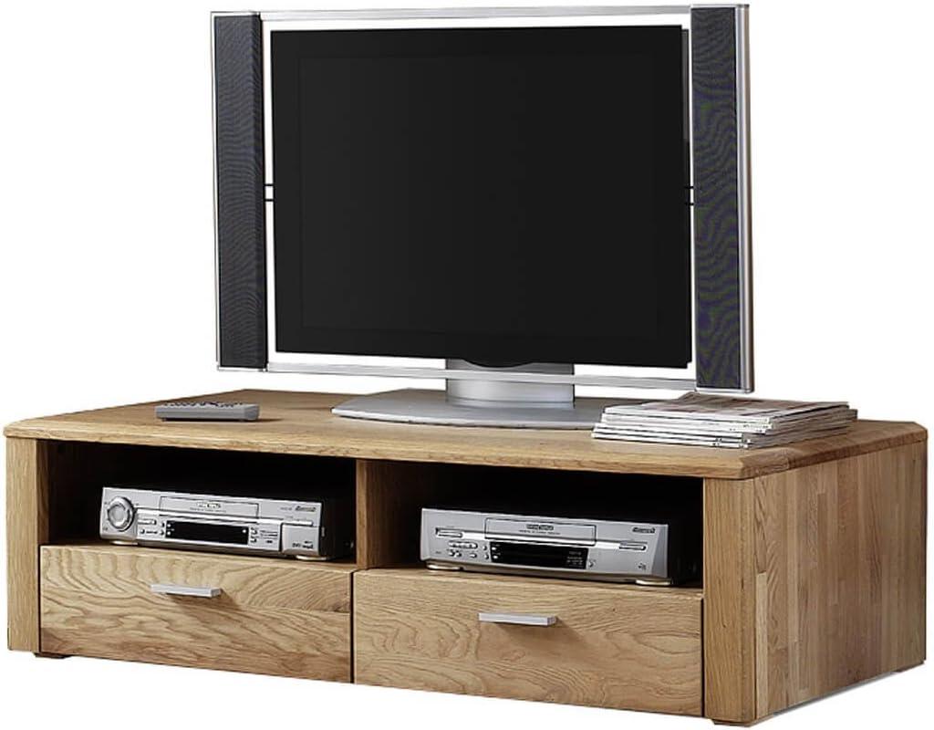 Mueble para TV de placa Vejen, de madera maciza nudoso roble de ...