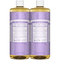 Dr. Bronner?s Pure-Castile Liquid Soap Value Pack - Lavender 32oz. (2 Pack)