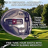 #1 Heater B1 Draw/Fade/Neutral Taylor Fit Made Illegal Distance Adjustable Driver Head - Compare TaylorMade M1