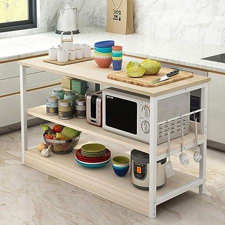 JYQ-SZRQ Carrito Cocina, Estante de Horno de microondas for ...