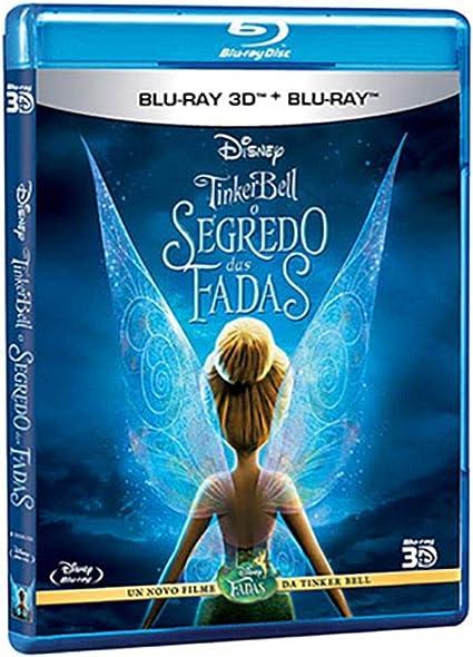 Amazon Com Tinker Bell O Segredo Das Fadas Blu Ray 3d Blu