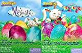 easter decorating ideas Easter Dudley's Majestic & Glitter Tie Dye Egg Decorating Kits