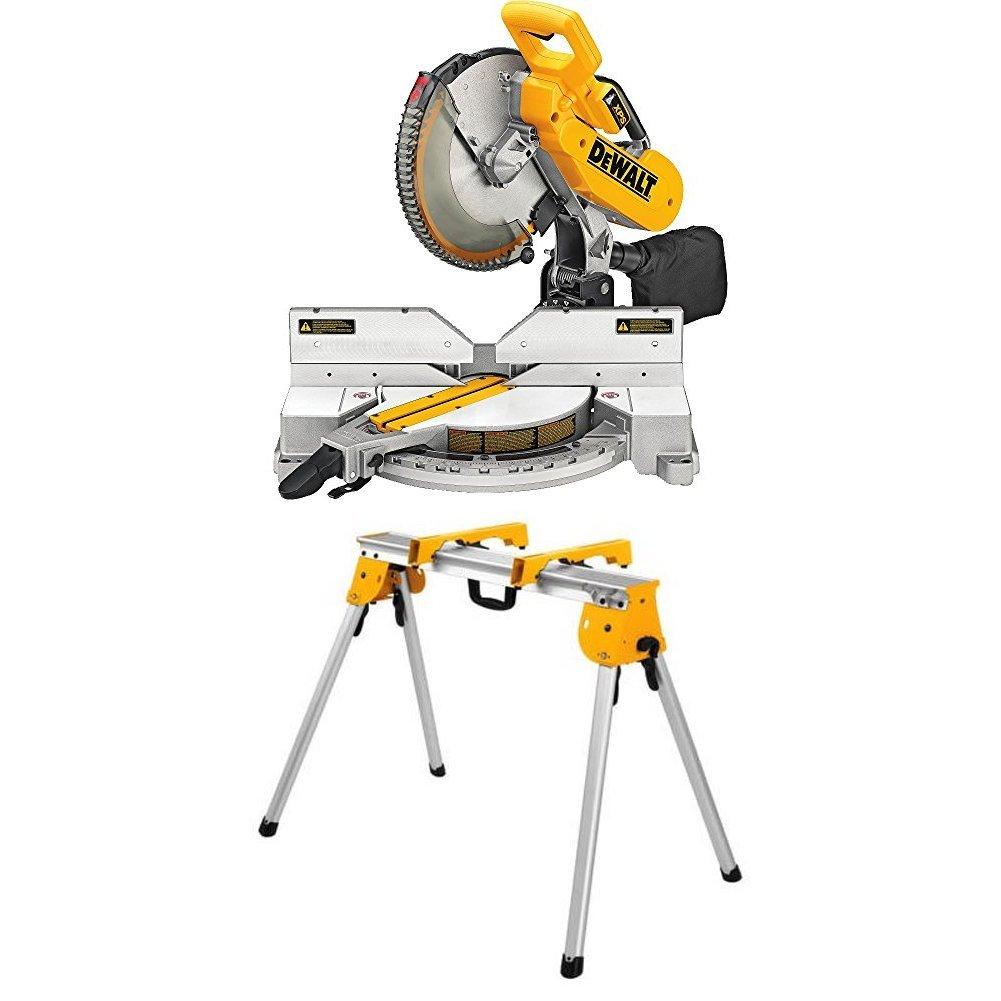 DEWALT DW716XPS Compound Miter Saw with Work Stand