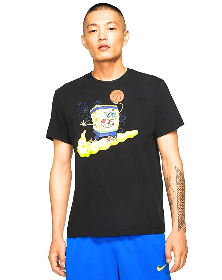 Nike Kyrie Irving X Spongebob T,Shirt in Black XX,Large at