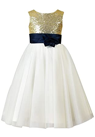 1aa08e651 Amazon.com  Sarahbridal Little Girls  Flower Party Wedding Gown ...