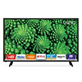 "VIZIO D39f-E1 1080p Smart LED Television (2017) 39"", Black"