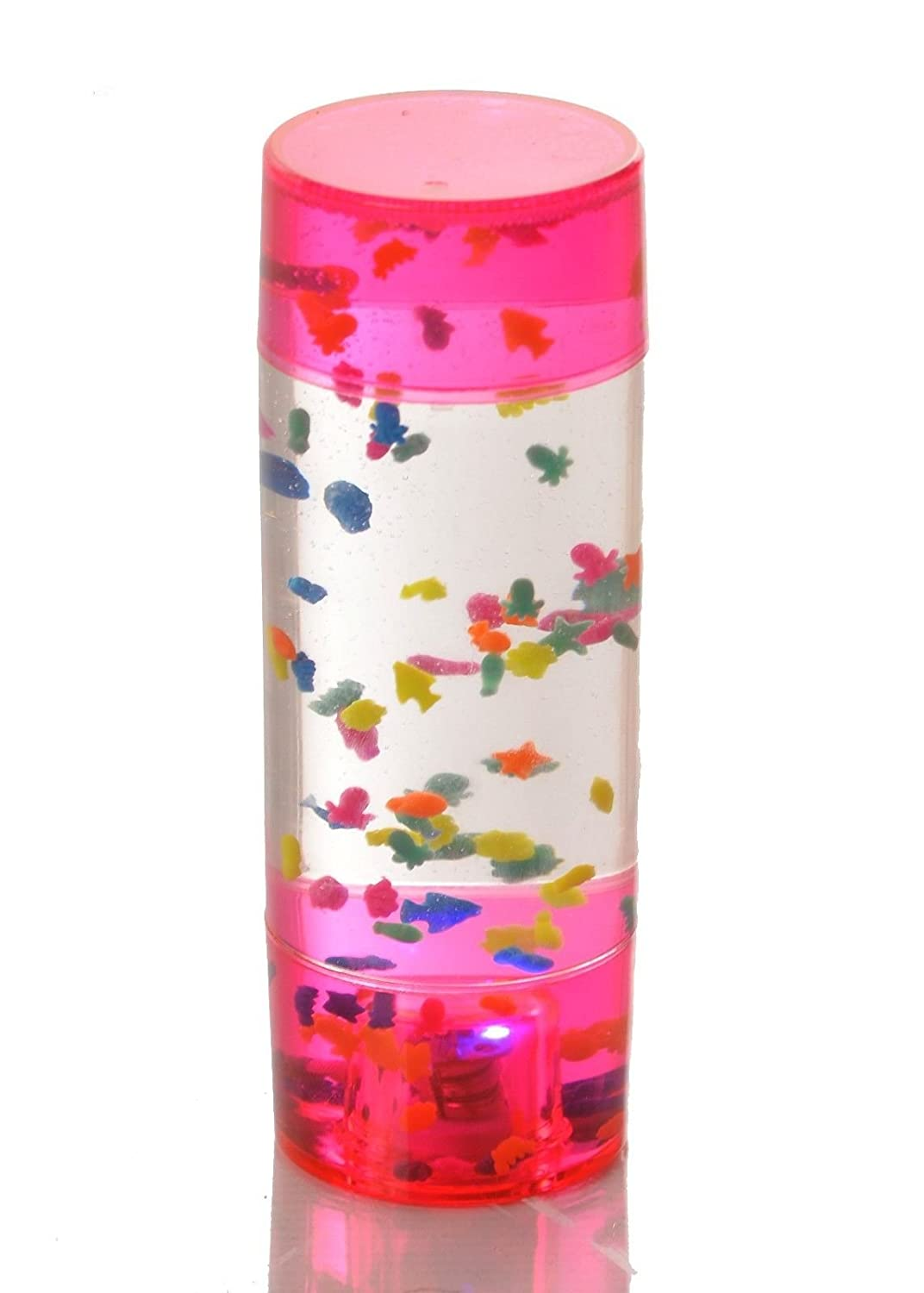 Light Up Fish Aquarium Toy Lamp - Small Handheld Sensory Light-Up Toy/Tool Special Needs & Educational Equipment, Assorted Colours PLAYLEARN