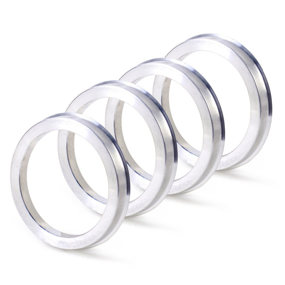 ZHTEAP 4pc Wheel Hub Centric Rings OD=108mm ID=78.1mm - Aluminium Alloy Wheel Hubrings for most Chevy GMC
