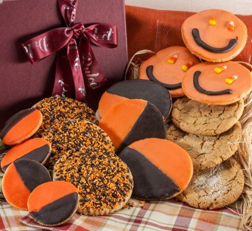 Halloween Fall cookie gift basket fresh baked Pumpkin