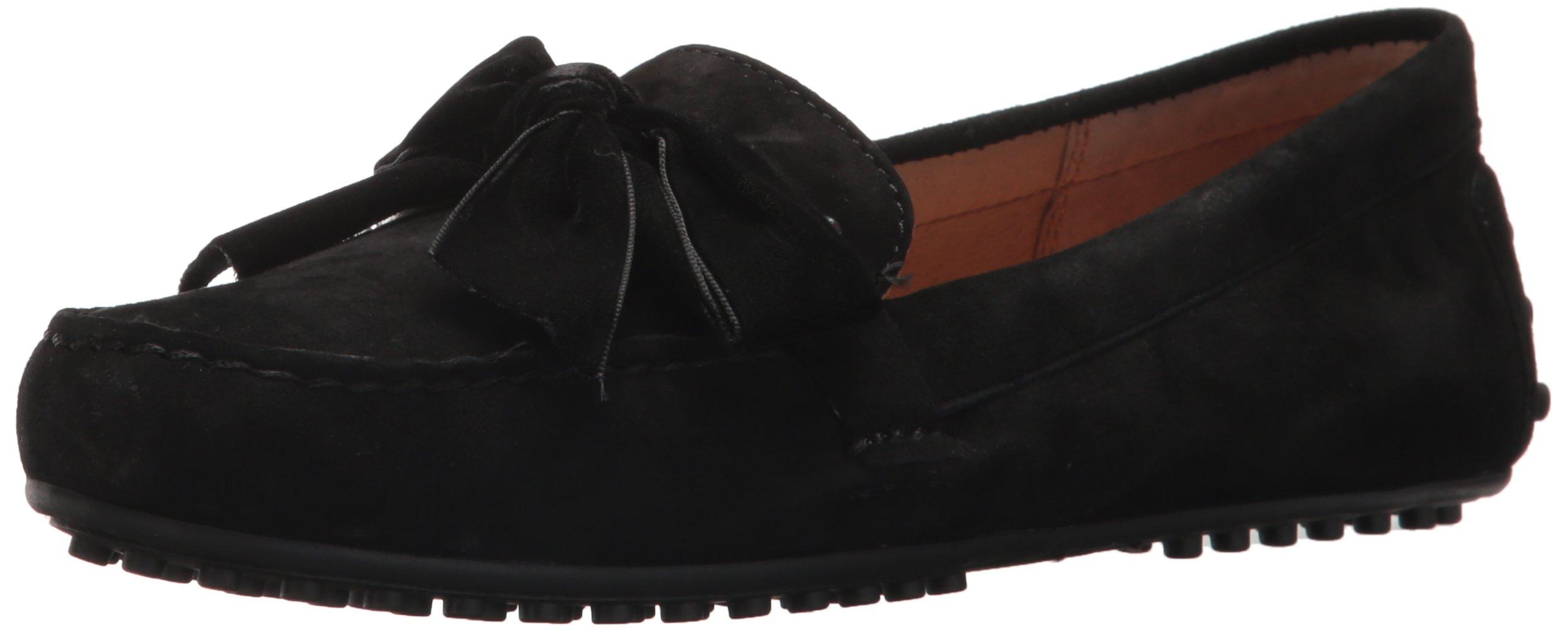 Lauren Ralph Lauren Women's Bayleigh Driving Style Loafer, Black, 7 B US