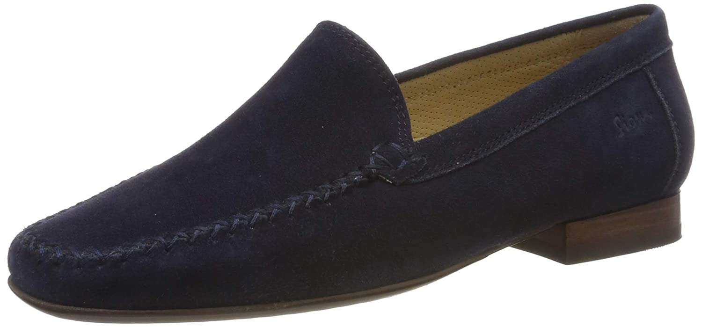Bleu (Night 008) Sioux Campina Mocassins (Loafers) Femme