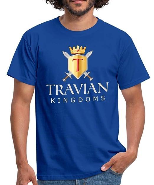 Spreadshirt Travian Kingdoms Logo Men's T-Shirt, S, Royal