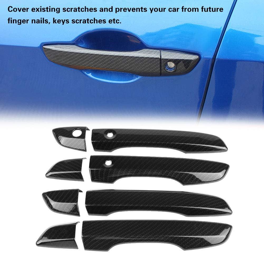 2x Blue ABS Interior Gear Shift Frame Cover Trim For Honda Civic 10th 2016-2017
