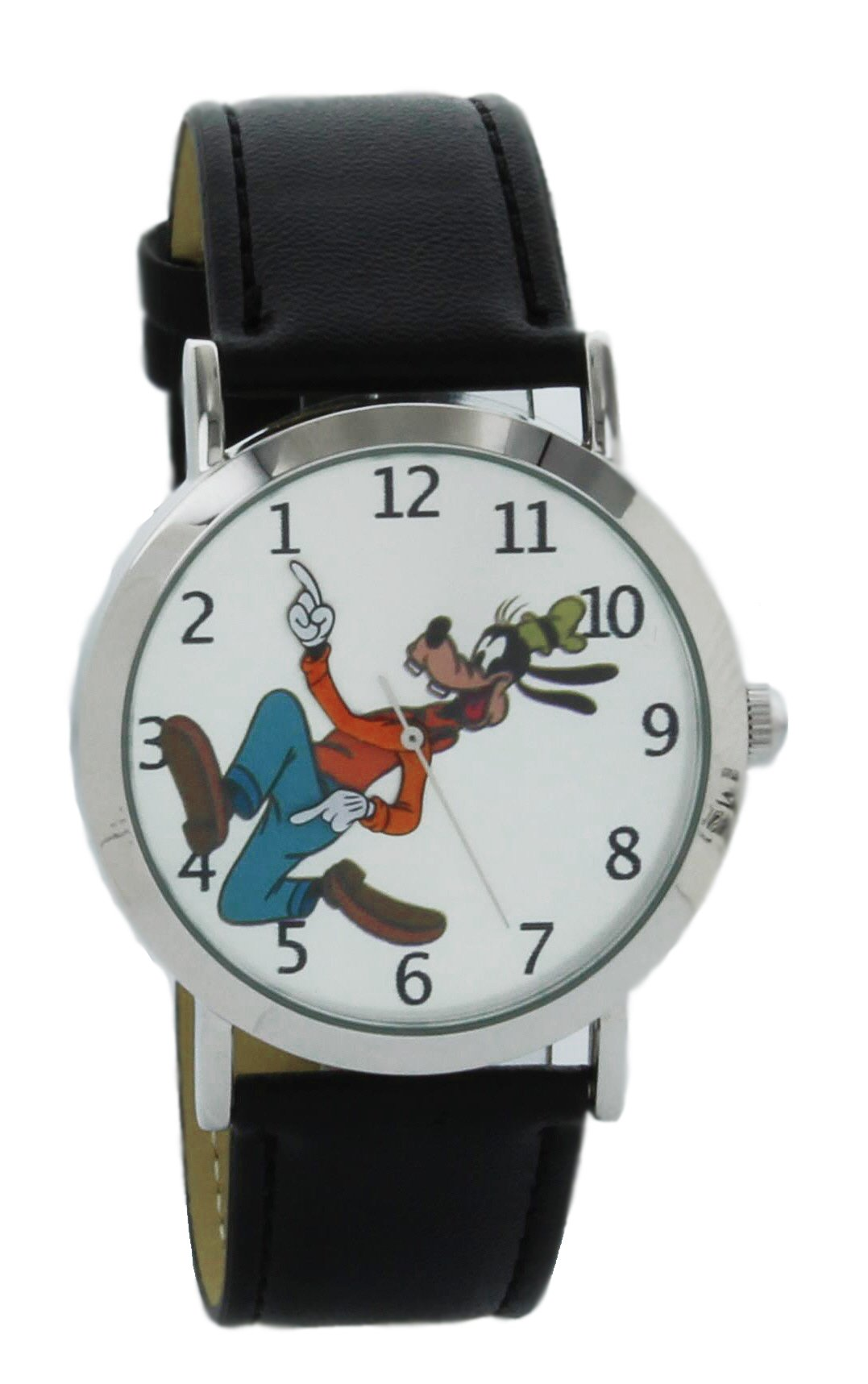 Disney Vintage style backward ticking watch Goofy Molded Hand Quartz watch GFY002