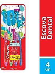 Escova Dental Colgate Pro Cuidado 4unid Promo c/ Desconto