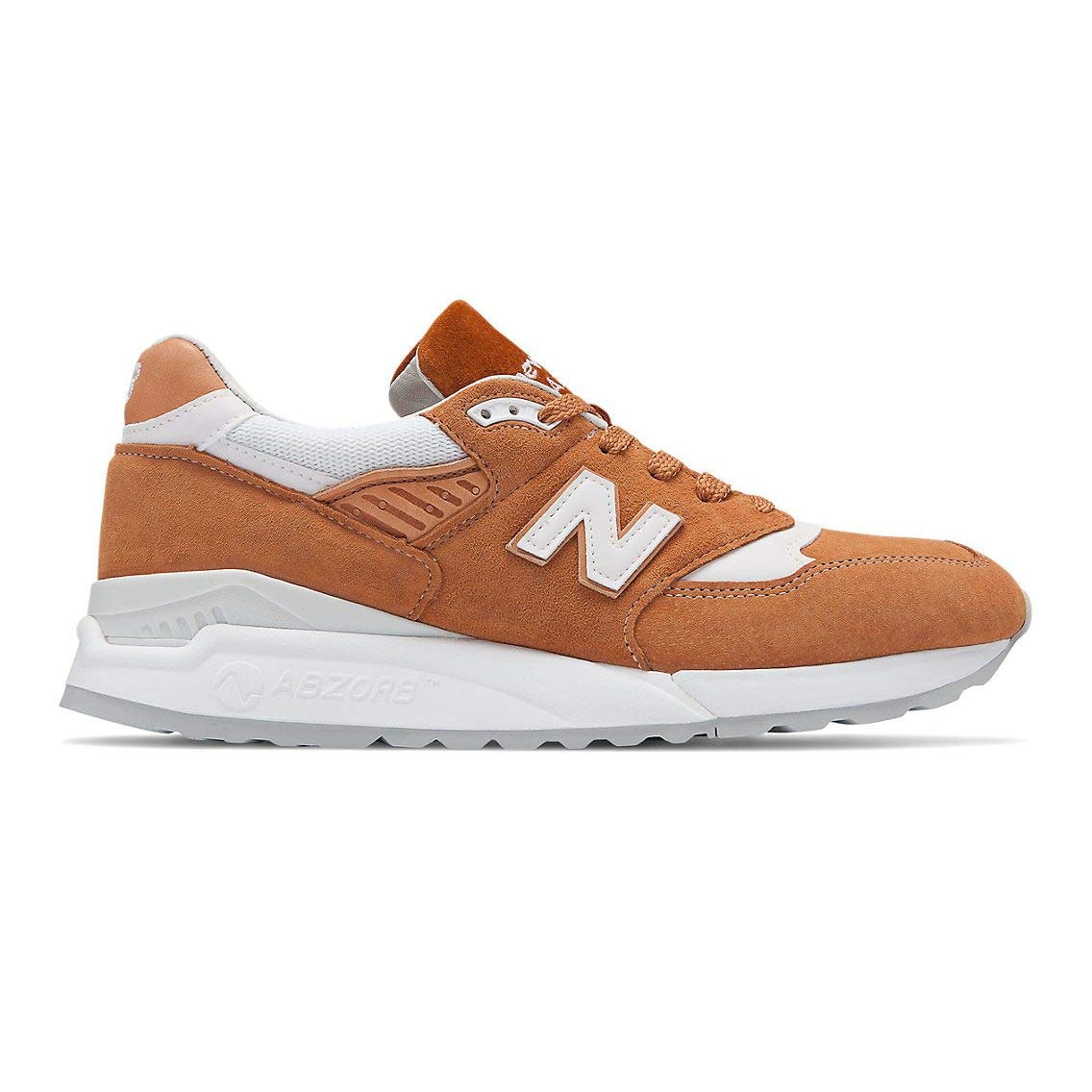 NewBalance M999 D Leather Synthetic - jta rot, Größe 8.5(42)