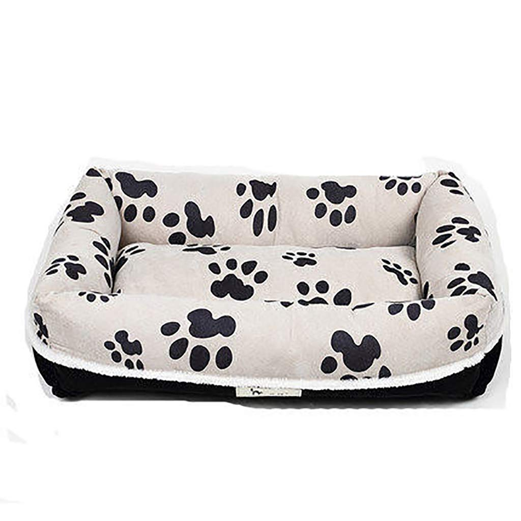 907018 Pet house Cat nest kennel Small dog Large and medium dogs Washable Pet nest pet bed Soft comfortable Moisture proof Four seasons available (Size   90  70  18)