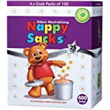 ICD Online Nappy Sacks The Orignal Nappy Disposal 400 Bags, 400 count, Pack of 400