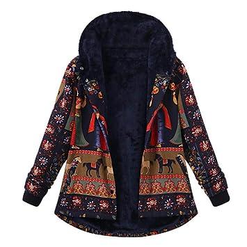 Niña Invierno Abajo chaqueta fashion carnaval,Sonnena ❤ Abrigo estampado de algodón suelto de
