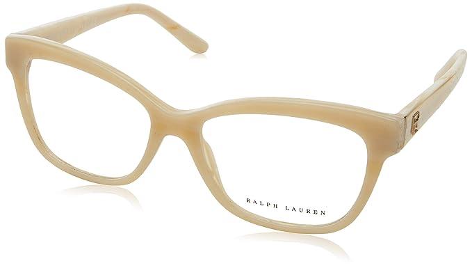 Ralph Lauren 0Rl6164, Monturas de Gafas para Mujer, Cream Horn, 53: Amazon.es: Ropa y accesorios